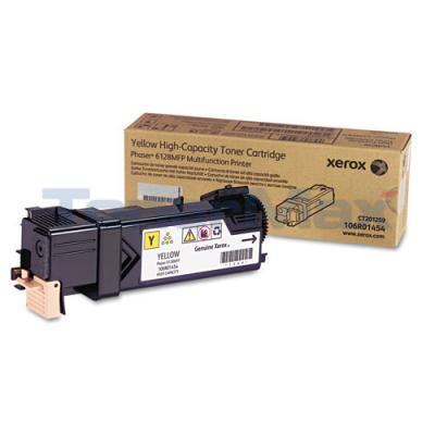 XEROX PHASER 6128MFP TONER CARTRIDGE YELLOW